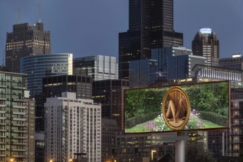 Art on the Highway: EXPO Chicago's Override Takes Over Chicago Billboards