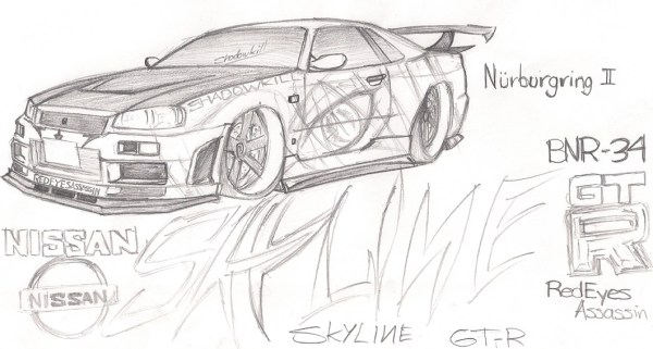 20 Nissan Skyline Gtr Coloring Sheets Ideas And Designs
