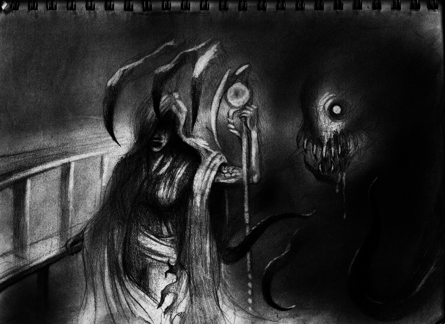 Dont Ever Look Behind You By Turma13 On Newgrounds