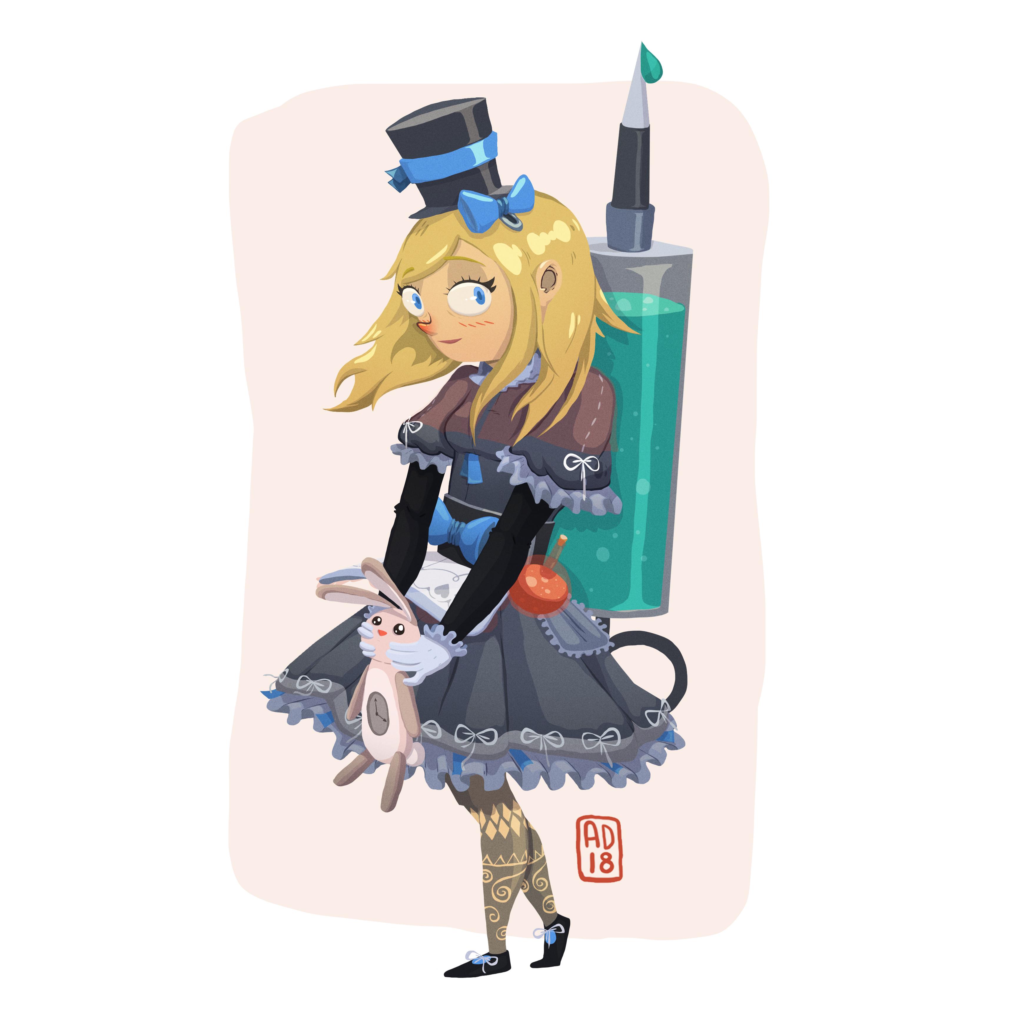 Gothic Alice in Wonderland