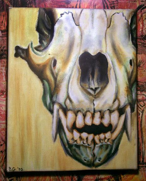 bear skull by NeonMonster on Newgrounds