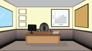 office background space