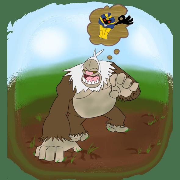 Slaking W Mummy By Cogmoses On Newgrounds