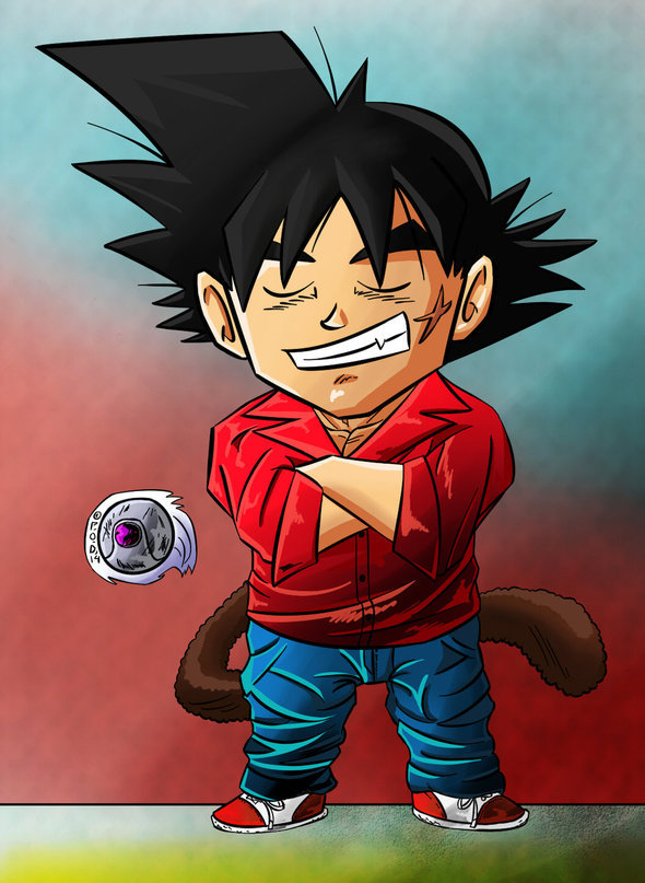 Bardock Chibi Casual Clothing By Paradise Of Darkness On