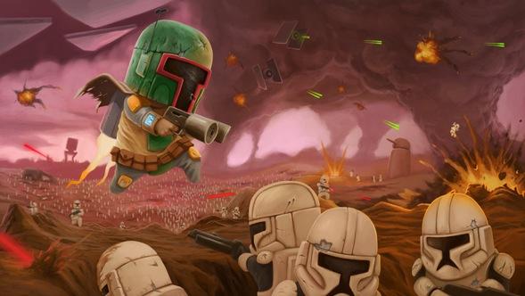 Star Wars Epic Battle by icheban on Newgrounds