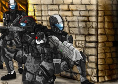 Anime Wallpaper Deviantart Odst Feet First Into Hell By Halochief89 On Newgrounds
