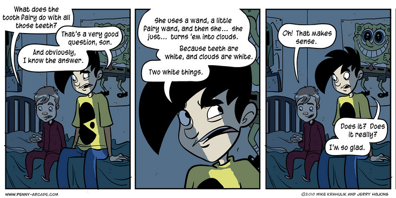 webcomics: like actual regular comics, only smart... (6/6)