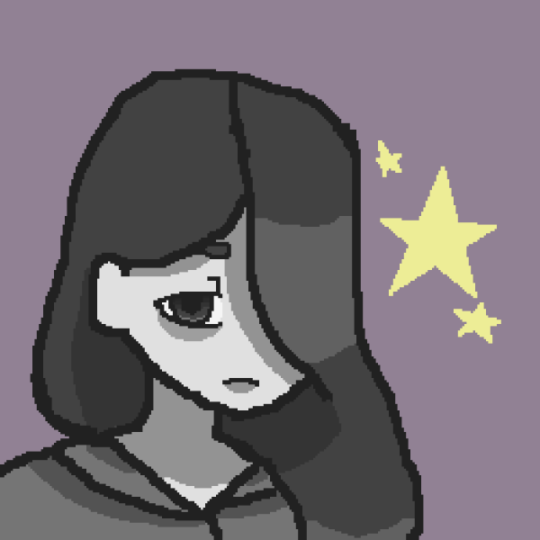 Pixilart - Profile Pic Star-depressed