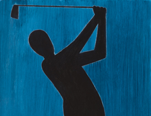 Black Golfer #2