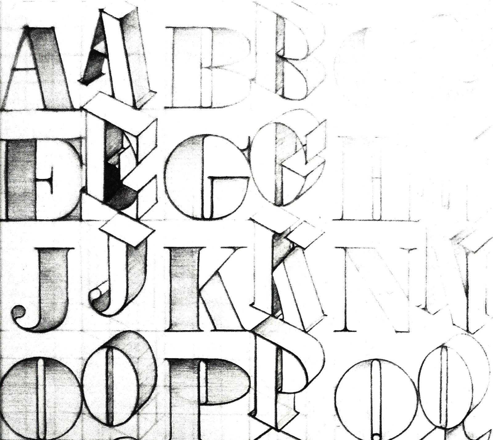 Exercise I Letterform