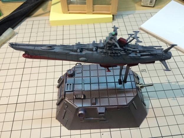 写真: バンダイメカコレクションの宇宙戦艦ヤマト01