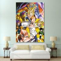 Dragon Ball Z Anime Block Giant Wall Art Poster