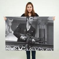Scarface Tony Montana Al Pacino Block Giant Wall Art Poster