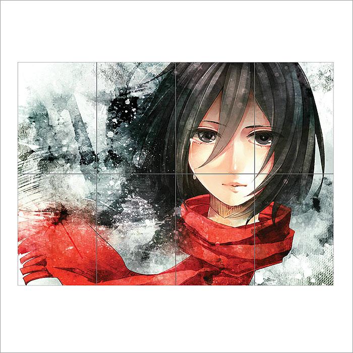 Mikasa Ackerman Shingeki No Kyojin Attack on Titan Block