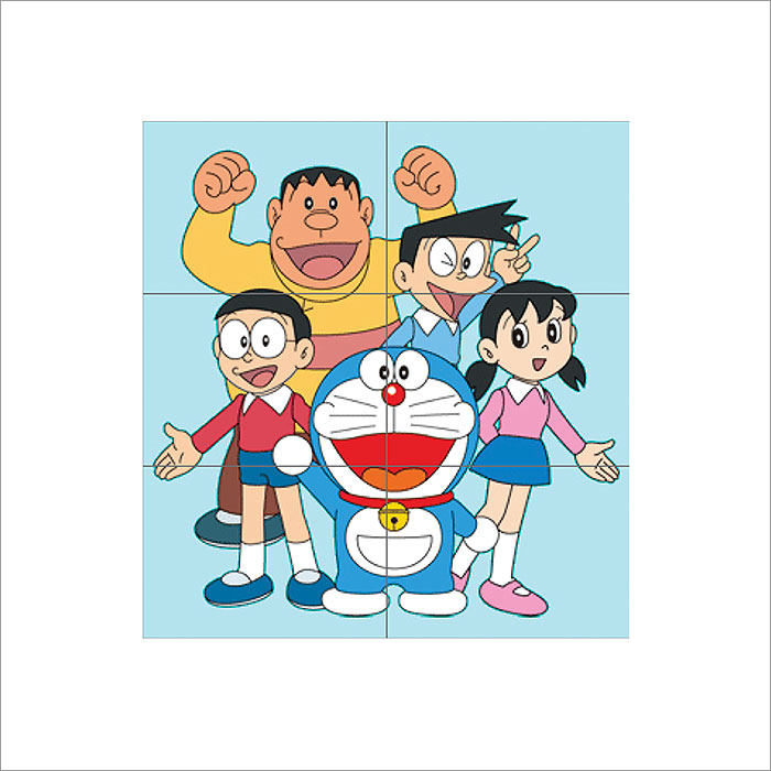 doraemon block giant wall