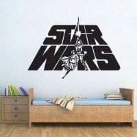 Star Wars Logo Vinyl Wall Decal