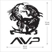 Alien vs Predador Vinyl Wall Art Decal