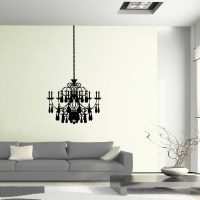 Chandelier Vinyl Wall Art Decal