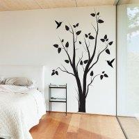 Tree With Birds Vinyl Wall Art Decal