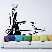 Bleach Kurosaki Ichigo Vinyl Wall Art Decal