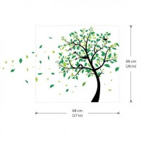 Large Tree with Birds Vinyl Wall Art Decal