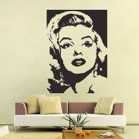 Marilyn Monroe Wall Decals - talentneeds.com
