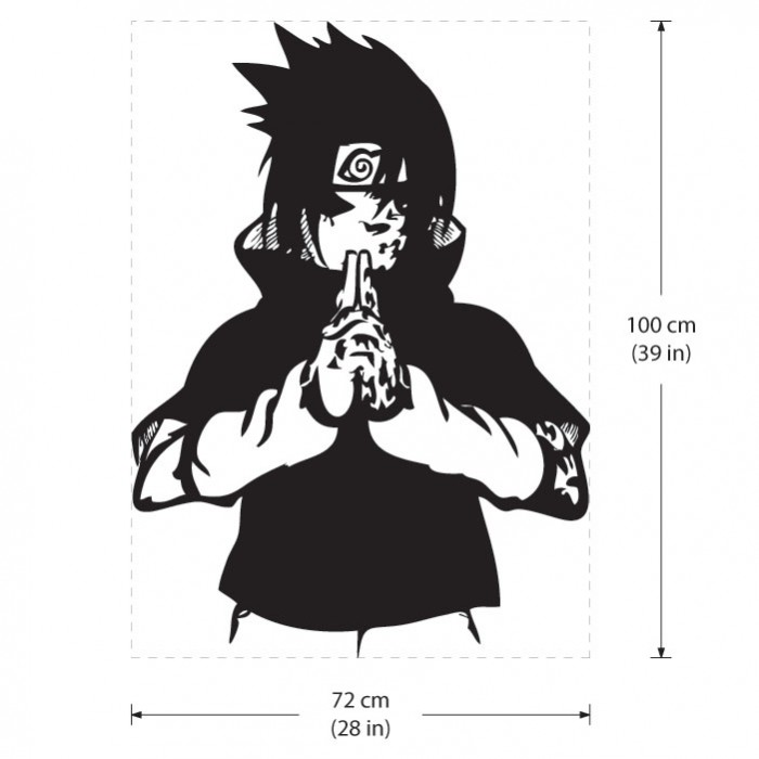 Naruto Sasuke Curse Mark Tattoo