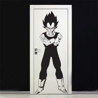 Dragon Ball Z Vegeta Super Saiya Vinyl Wall Art Decal