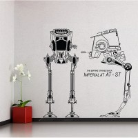 Imperial AT-ST Star Wars Vinyl Wall Art Decal