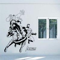 The Avengers Vinyl Wall Art Decal