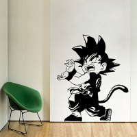 Kid Goku Kamehameh Dragon Ball Vinyl Wall Art Decal