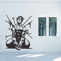 Naruto Anime Zabuza Momochi Vinyl Wall Art Decal