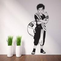 Gaara Anime Naruto Vinyl Wall Art Decal