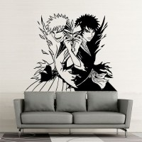 Bleach Manga Ichigo Vinyl Wall Art Decal