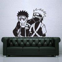 Kakashi and Obito Naruto Vinyl Wall Art Decal