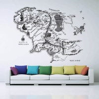 Wall Stickers Map Of The World - [peenmedia.com]
