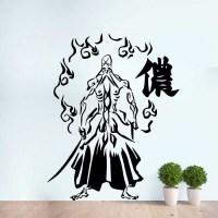 Bleach Genryusai Shigekuni Yamamoto Vinyl Wall Art Decal
