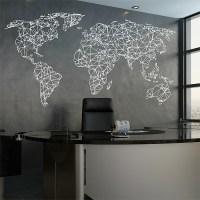 World Map Wall Stickers - [peenmedia.com]