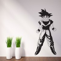 Dragon Ball Z Goku Vinyl Wall Art Decal