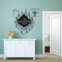 The Marauder's Map Harry Potter v3 Vinyl Wall Art Decal