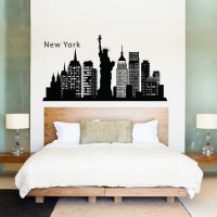 New York City Wall Sticker - [peenmedia.com]