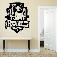Harry Potter Gryffindor House Vinyl Wall Art Decal