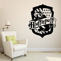 Harry Potter Hufflepuff House Vinyl Wall Art Decal