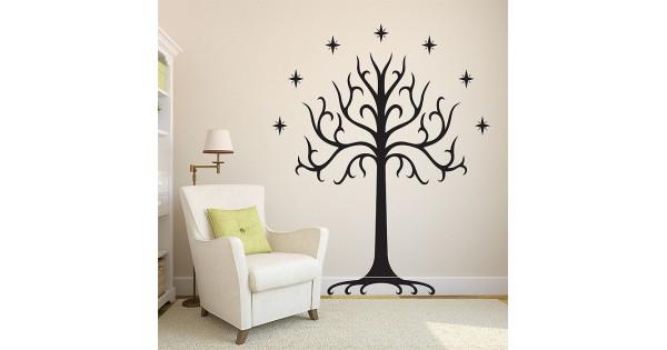 White Tree of Gondor Vinyl Wall Art Decal