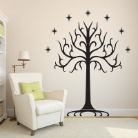 White Tree of Gondor Wall Sticker
