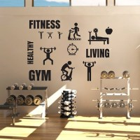 Fitness Gym Sport Vinyl Wall Art Decal