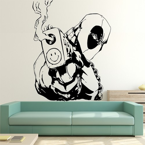 Steven Gerrard Quotes Wallpaper Deadpool Vinyl Wall Art Decal