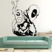 Deadpool Vinyl Wall Art Decal