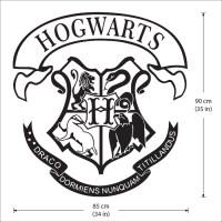 Hogwarts School Logo Harry Potter Vinyl Wall Art Decal