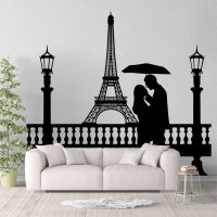 Eiffel Tower Wall Sticker - [peenmedia.com]